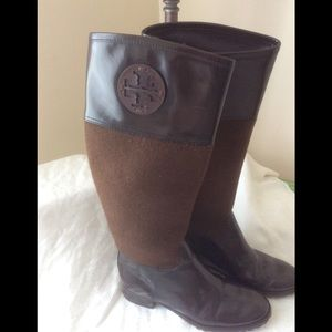 Tory Burch riding boots in EUC